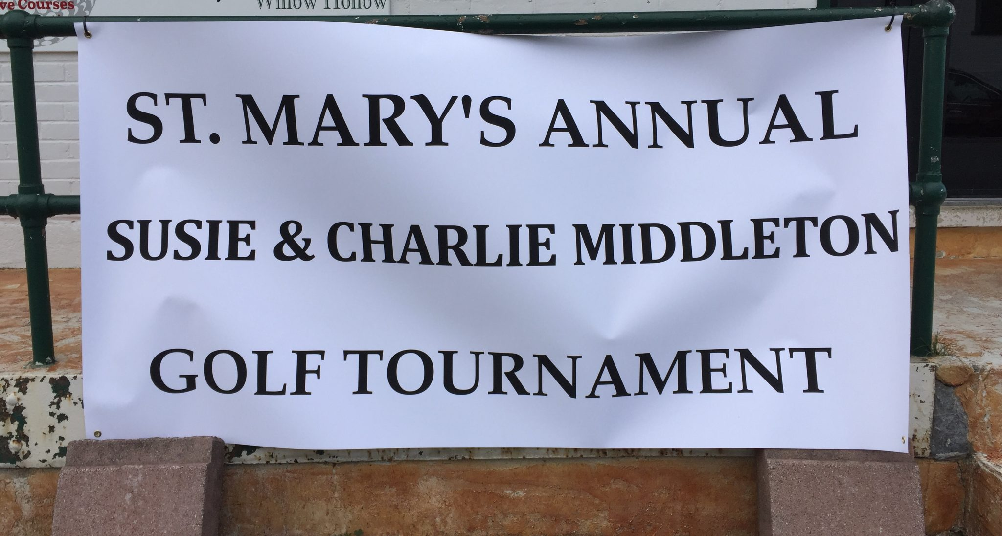 The Charlie and Susan Middleton Golf Tournament cancelled
